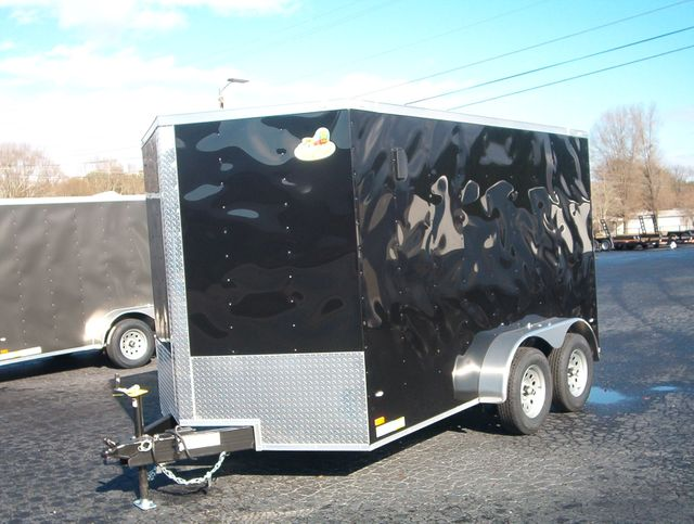 """2020 Covered Wagon Enclosed 7x12 Trailer 6,6"""" interior Height in Madison, Georgia 30650"""