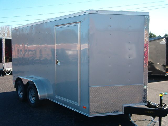 "2020 Covered Wagon Enclosed 7x14 6' 3"" Interior Height in Madison, Georgia 30650"