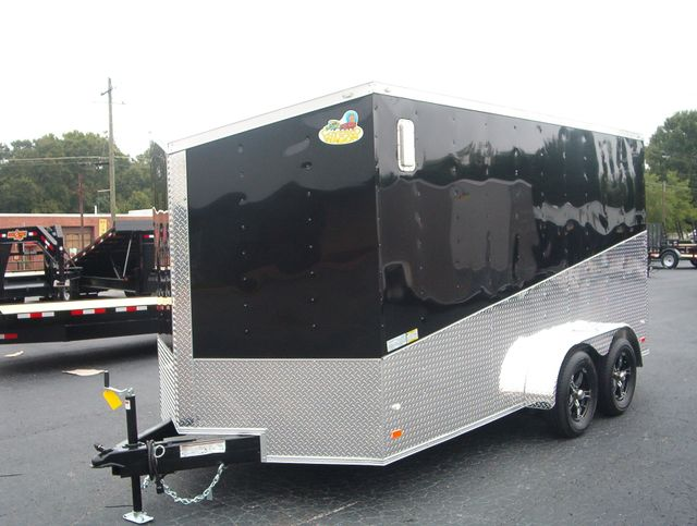"2020 Covered Wagon Enclosed 7x14 6' 6"" Interior Height in Madison, Georgia 30650"