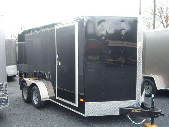2020 Covered Wagon Enclosed 7x14 Barn Doors