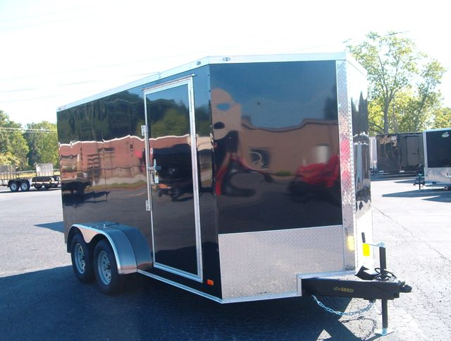 "2020 Covered Wagon Enclosed 7x14 6'6"" Interior Height"