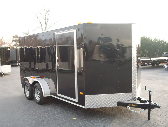 "2020 Covered Wagon Enclosed 7X14 Trailer 6' 6"" Interior Height in Madison, Georgia 30650"
