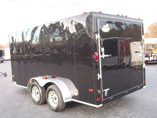 """2020 Covered Wagon Enclosed 7X14 Trailer 6' 6"""" Interior Height in Madison, Georgia 30650"""