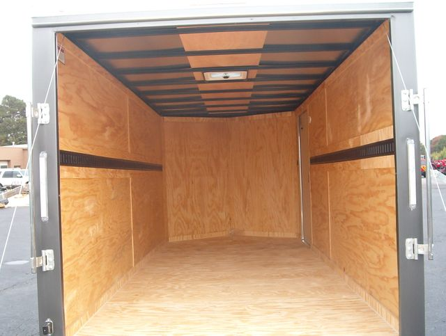 "2020 Covered Wagon Enclosed 7x16 5 Ton 6'6"" Interior Height in Madison, Georgia 30650"