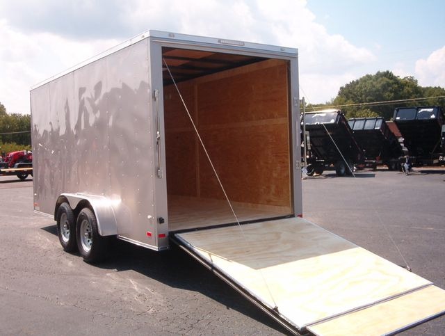 2020 Covered Wagon Enclosed 7x16 5 Ton 7ft Interior Height in Madison, Georgia 30650