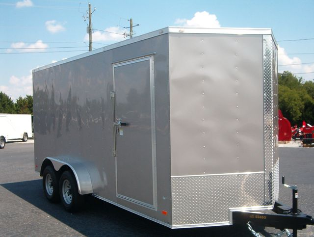 2020 Covered Wagon Enclosed 7x16 5 Ton 7ft Interior Height