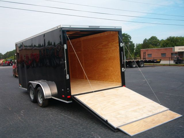 "2020 Covered Wagon Enclosed 7x16 6' 3"" Interior Height in Madison, Georgia 30650"