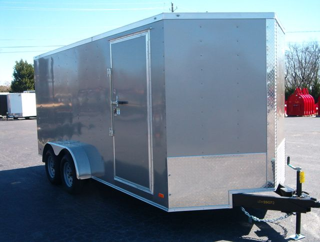 """2020 Covered Wagon Enclosed 7x16 6' 6"""" Interior Height"""