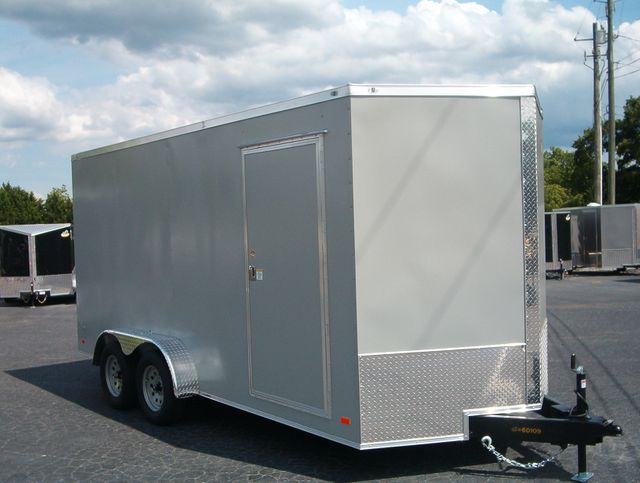 2020 Covered Wagon Enclosed 7x16 7 Ft