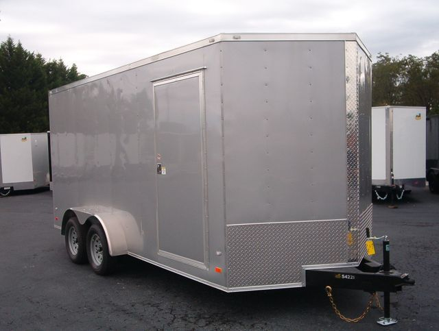 2020 Covered Wagon Enclosed 7x16 7' Interior Height