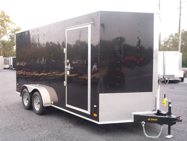 2020 Covered Wagon Enclosed 7x16 7' Trailer in Madison, Georgia 30650