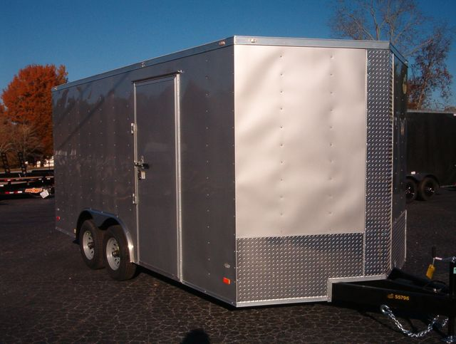 2020 Covered Wagon Enclosed 8 1/2x16 5 Ton 7 Ft Interior Height