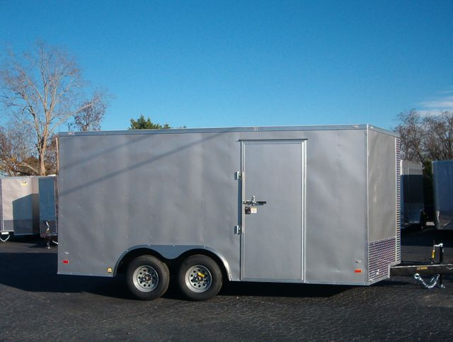 2020 Covered Wagon Enclosed 8 1/2x16 5 Ton 7 Ft Interior Height in Madison, Georgia 30650