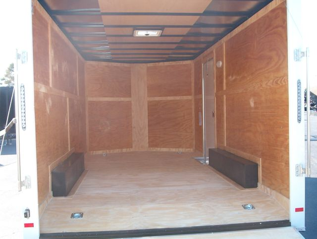 """2020 Covered Wagon Enclosed 8 1/2x16 5 Ton 7"""" Interior Height in Madison, Georgia 30650"""