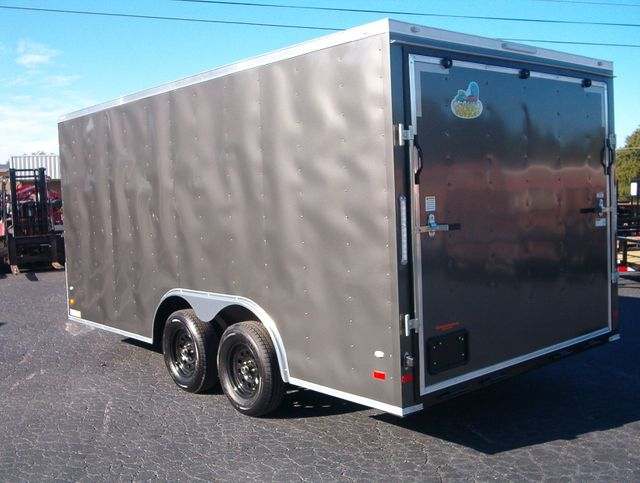 "2020 Covered Wagon Enclosed 8 1/2x16 6' 6"" interior Height in Madison, Georgia 30650"