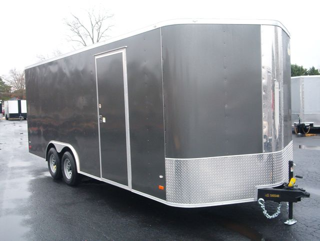 2020 Covered Wagon Enclosed 8 1/2x20 5 Ton 7 Ft in Madison, Georgia 30650
