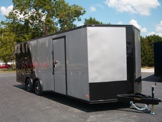 2021 Covered Wagon Enclosed 8 1/2x24 5 Ton 7 Ft Interior Height in Madison, Georgia 30650