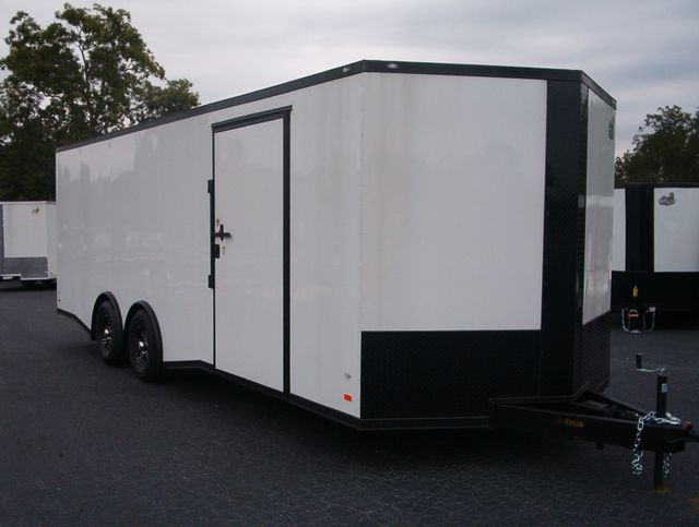 2020 Covered Wagon Enclosed 8 1/2x24 5 Ton 7Ft Interior Height in Madison, Georgia 30650