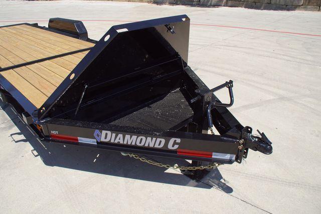 "2021 Diamond C 82"" X 22' HDT TANDEM AXLE TILT TRAILER -PRE PRICE INCREASE $8,595 in Keller, TX 76111"