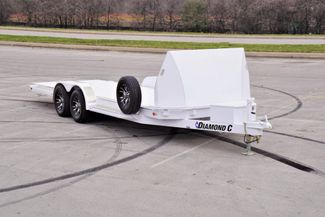 2020 Diamond C Damping Tilt Car Hauler in Fort Worth, TX 76111