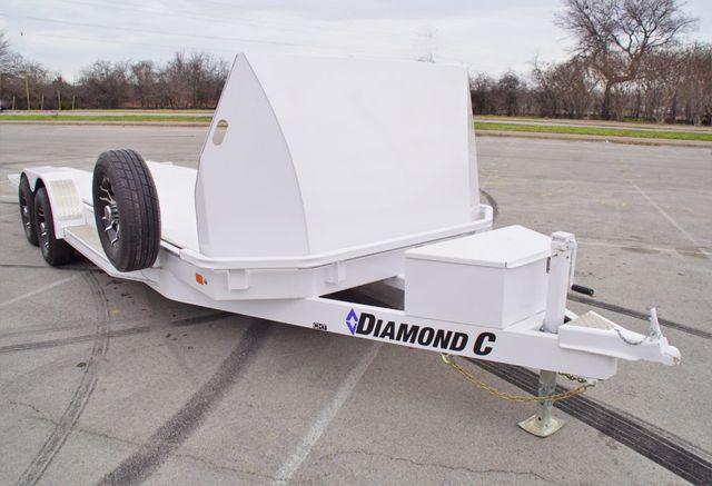 2020 Diamond C Damping Tilt Car Hauler in Fort Worth, TX 76111