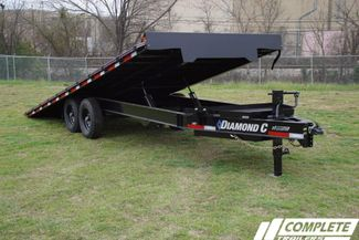 2020 Diamond C Deckover Power Tilt w/ Heavy Duty Tongue Box in Fort Worth, TX 76111