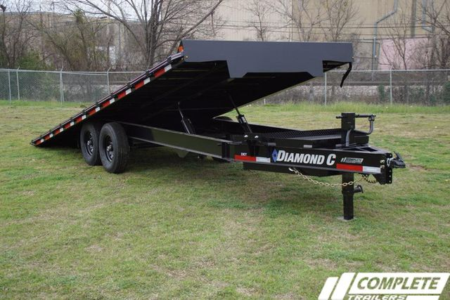2020 Diamond C Deckover Power Tilt w/ Heavy Duty Tongue Box