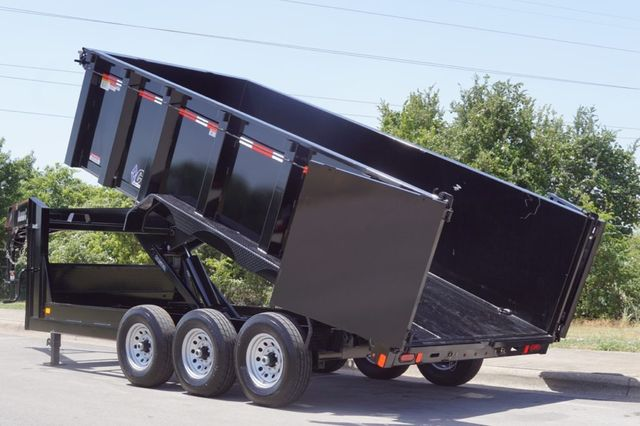 2020 Diamond C 16' Triple Axle Gooseneck Dump in Keller, TX 76111