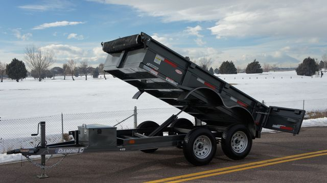 2020 Diamond C 10' EDG Dump Trailer