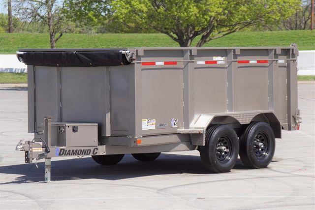 "2020 Diamond C 83"" x 12' Medium Duty Dump w/ 36"" Sides"