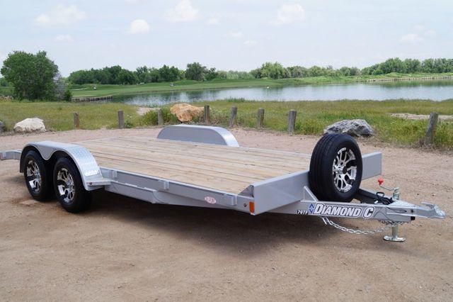 2020 Diamond C 20' GTF Open Car Hauler in Keller, TX 76111