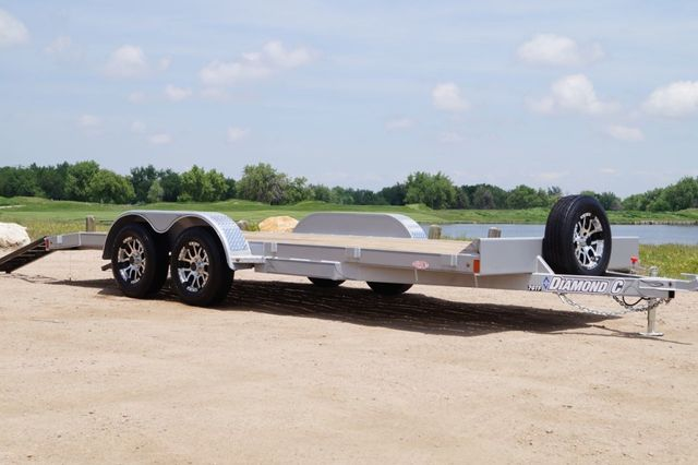 2020 Diamond C 20' GTF Open Car Hauler in Fort Worth, TX 76111