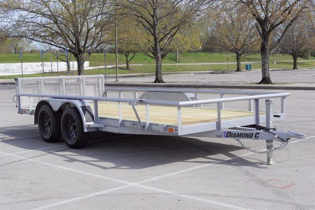 2020 Diamond C 16' GTU Utility Trailer