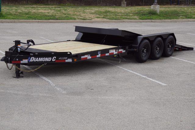 """2021 Diamond C 82"""" X 25' TRIPLE AXLE HD TILTING TRAILER in Keller, TX 76111"""