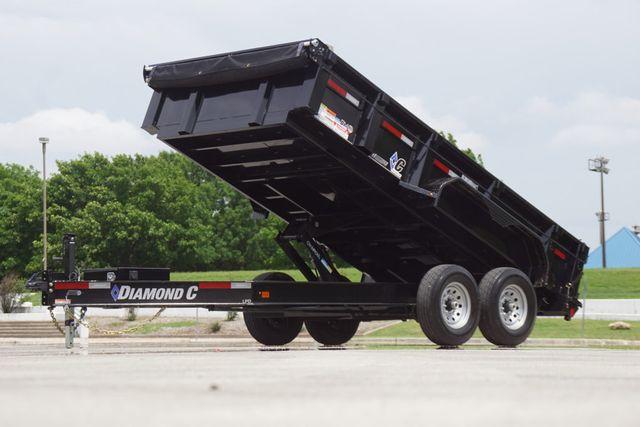 2020 Diamond C 14' Low Pro Dump
