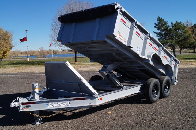 "2020 Diamond C 14'X82"" HEAVY DUTY LOW PROFILE DUMP TRAILER in Fort Worth, TX 76111"