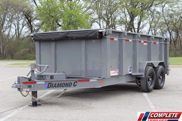 "2020 Diamond C Low Pro 16' w/ 44"" Side in Fort Worth, TX 76111"