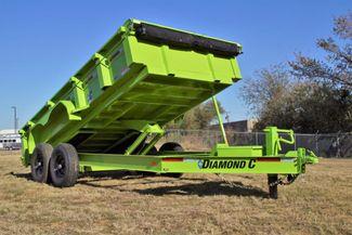 """2020 Diamond C Low Profile Dump Trailer 14'L X 82''W X 24""""H in Keller, TX 76111"""