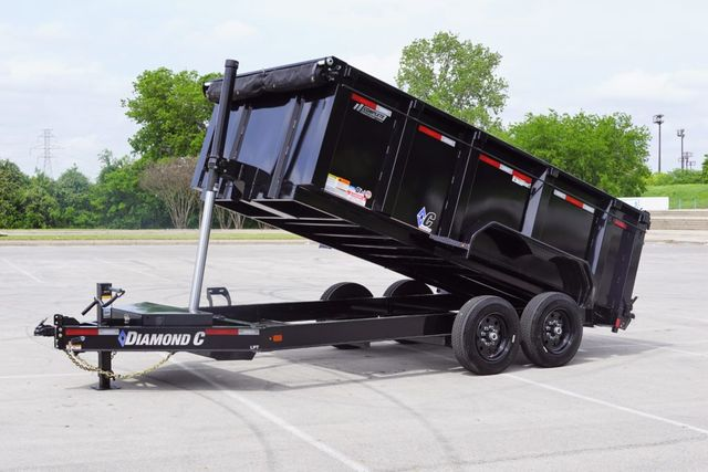 "2020 Diamond C 14'X82"" LOW PROFILE TELESCOPIC DUMP TRAILER"