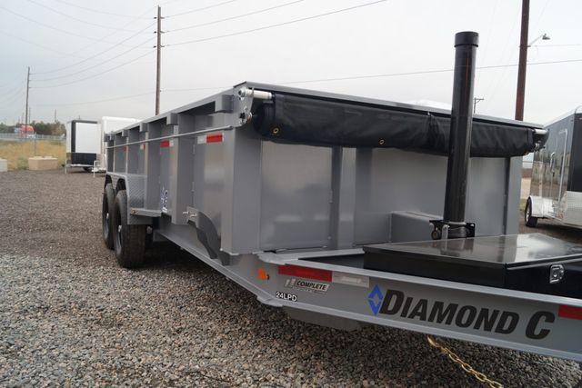 "2020 Diamond C 14'X82"" LOW PROFILE TELESCOPIC DUMP TRAILER in Keller, TX 76111"