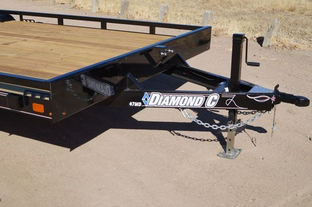 2020 Diamond C 20' MDT Mid-Deck Utility Trailer in Keller, TX 76111