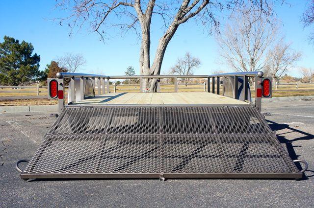 2020 Diamond C 12' Premium Single Axle w/ Bi-Fold Gate in Keller, TX 76111