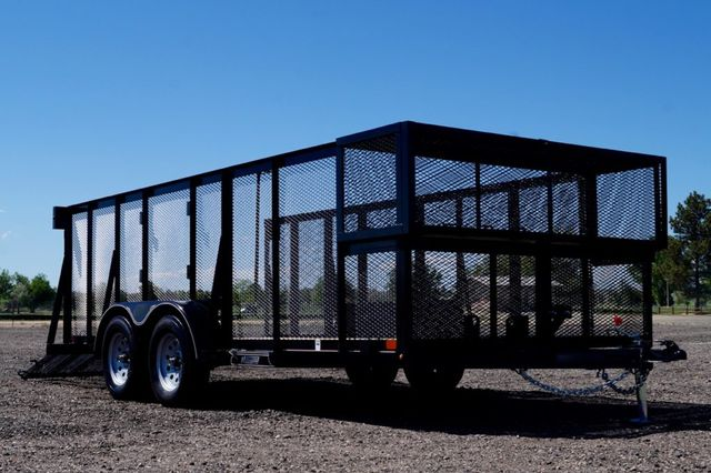 2020 Diamond C 16' Tandem Axle Landscape Trailer