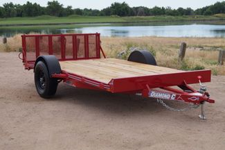 2020 Diamond C 12' UVT Utility Trailer in Fort Worth, TX 76111