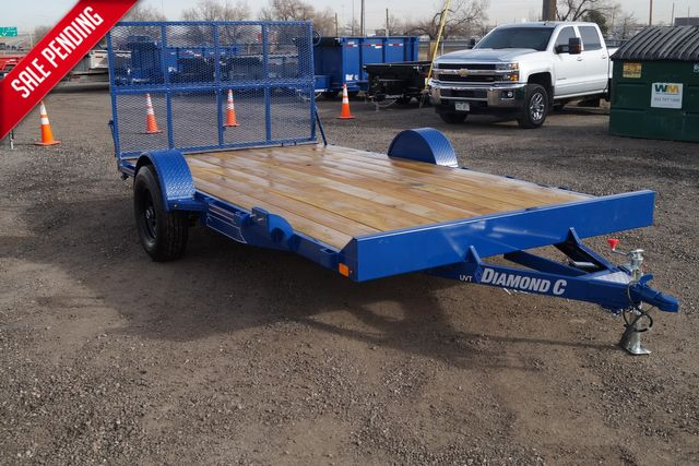 "2020 Diamond C UVT152 82"" X 14' - $2,395 in Fort Worth, TX 76111"