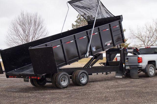 2020 Diamond C 20' Work Horse Dual Tandem Gooseneck Dump Trailer