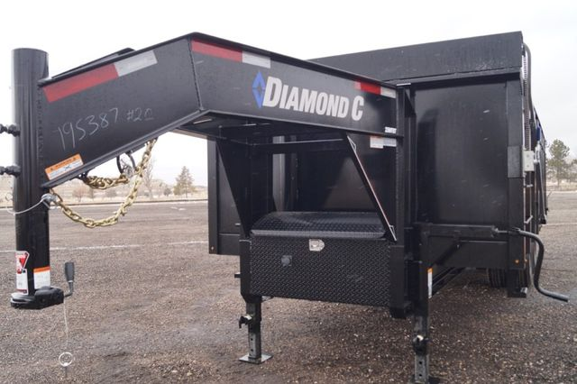 2020 Diamond C 20' WDT HD Tandem Dual Dump in Keller, TX 76111