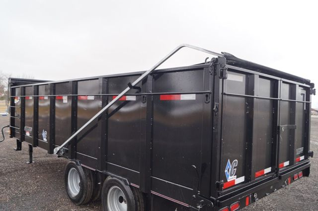 2020 Diamond C 20' Work Horse Dual Tandem Gooseneck Dump Trailer in Keller, TX 76111