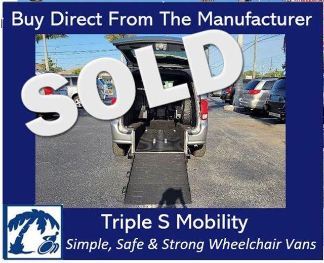 2020 Dodge Grand Caravan Gt Wheelchair Van Handicap Ramp Van
