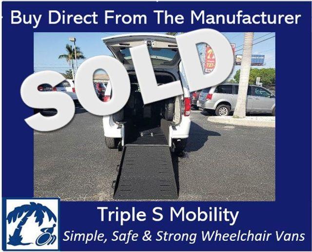 2020 Dodge Grand Caravan Sxt Wheelchair Van Handicap Ramp Van